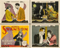 "Movie Posters:Comedy, Bluebeard's 8th Wife (Paramount, 1923). Title Lobby Card and SceneCards (3)(11"" X 14"").. ... (Total: 4 Items)"