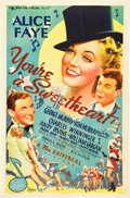 "Movie Posters:Musical, You're a Sweetheart (Universal, 1937). One Sheet (27"" X 41"").. ..."