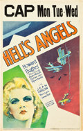 "Movie Posters:War, Hell's Angels (United Artists, 1930). Window Card (14"" X 22"").. ..."