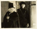"Movie Posters:Horror, The Cabinet of Dr. Caligari (UFA, 1919). German Lobby Card (9.25"" X11.75"").. ..."