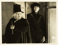 "The Cabinet of Dr. Caligari (UFA, 1919). German Lobby Card (9.25"" X 11.75"")"