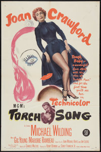 """Torch Song (MGM, 1953). One Sheet (27"""" X 41""""). Romance"""