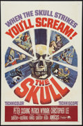 "Movie Posters:Horror, The Skull (Paramount, 1965). One Sheet (27"" X 41""). Horror.. ..."