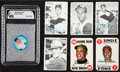 Baseball Cards:Sets, 1960's Topps & Salada Collection ((69) - With Complete Sets. ...
