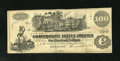 Confederate Notes:1862 Issues, T39 $100 1862. This PF-13 Cr. 294 note grades Fine....