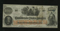 Confederate Notes:1862 Issues, T41 $100 1862. This PF-12 Cr. 317a/327a Plate 4 Scroll 1 note isChoice Crisp Uncirculated....