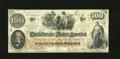 Confederate Notes:1862 Issues, T41 $100 1862. This is a PF-10 Cr. 315a/325a Scroll 1 Choice CrispUncirculated C-note....