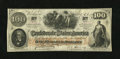 Confederate Notes:1862 Issues, T41 $100 1862. This PF20 316a/326a Scroll 2 Plate 8 note did nothave the final digit in the year applied by hand. Fine-Ve...