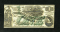 Confederate Notes:1862 Issues, CT45 $1 1862. This is a gorgeous Crisp Uncirculated counterfeit,listed as CT-45/342 in the Tremmel reference, and as a ...