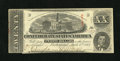Confederate Notes:1863 Issues, T58 $20 1863. Some light splashes of red ink are noted at left onthis PF-12, Cr. 421 $20. About Uncirculated....