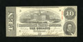 Confederate Notes:1863 Issues, T59 $10 1863. PF-18, Cr. 436 are the reference numbers for thisAbout Uncirculated example....