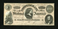 Confederate Notes:1864 Issues, T65 $100 1864. This Series 1 example equates to a PF-2, Cr. 493 in the Fricke tome. Extremely Fine....