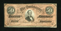 Confederate Notes:1864 Issues, T66 $50 1864. This XF-AU $50 is a PF-8, Cr. 499 due to having 4 Series in the upper left corner....