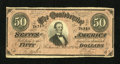 Confederate Notes:1864 Issues, T66 $50 1864. The dark red varieties from 1864 are very ...