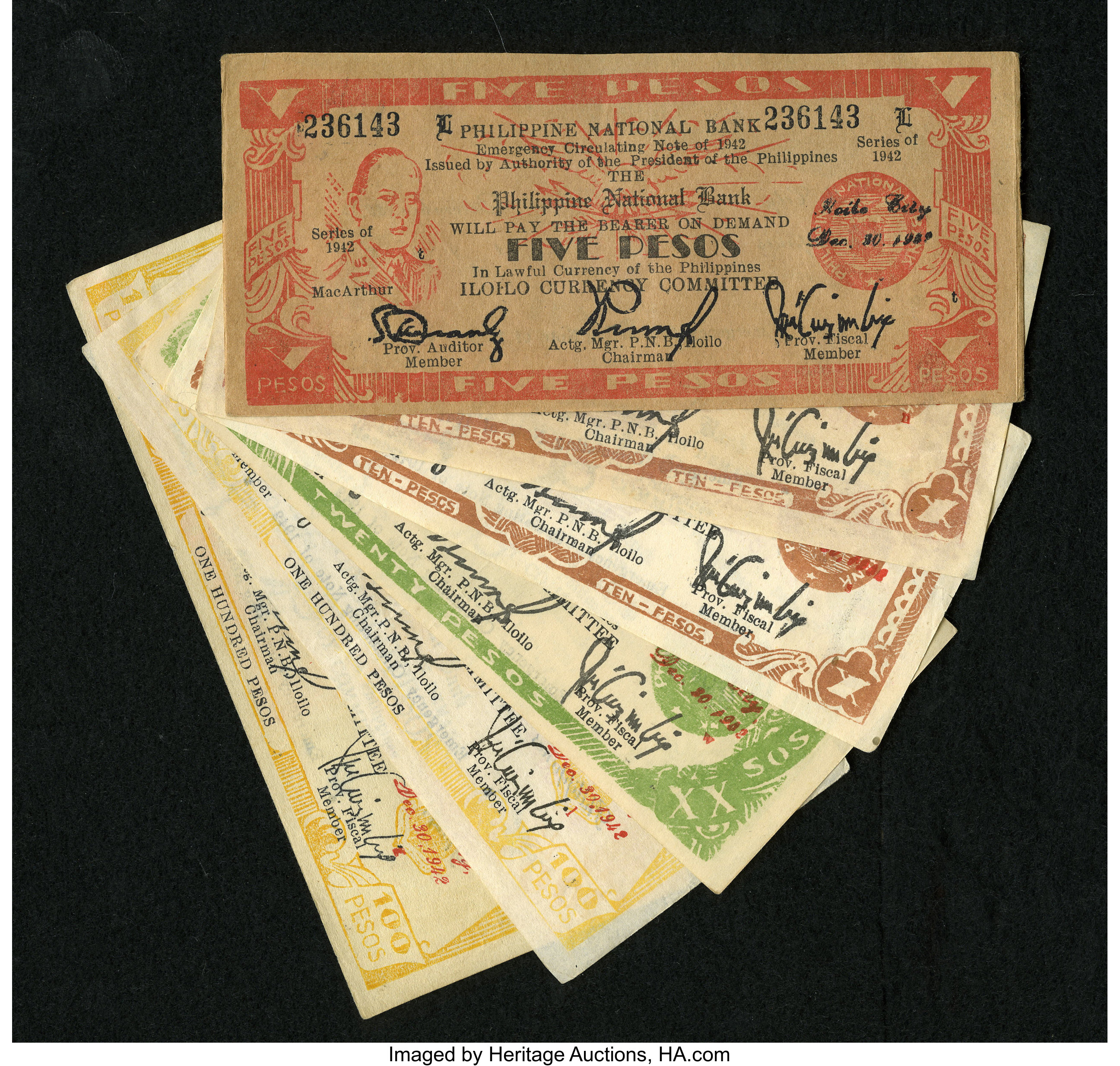 Philippines Philippine National Bank IIoilo Currency