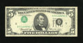 Error Notes:Inverted Third Printings, Fr. 1973-E $5 1974 Federal Reserve Note. Fine-Very Fine.. This $5with an inverted third-printing still remains quite crisp....