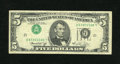 Error Notes:Inverted Third Printings, Fr. 1973-L $5 1974 Federal Reserve Note. Very Fine.. A touch ofsoiling is seen on the surface of this crisp Type One invert...