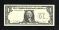 Error Notes:Third Printing on Reverse, Fr. 1916-K $1 1988A Federal Reserve Note. Gem Crisp Uncirculated.. The third printing is on the back of this delightful Dall...