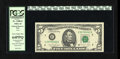 Error Notes:Obstruction Errors, Fr. 1980-E $5 1988A Federal Reserve Note. PCGS Very Choice New 64PPQ.. Only about 10% of the back was printed due to a huge ...