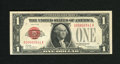 Small Size:Legal Tender Notes, Fr. 1500 $1 1928 Legal Tender Note. Crisp Uncirculated.. A colorful and well embossed legal ace that is too toned to allow t...