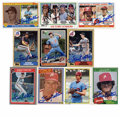 Autographs:Sports Cards, Steve Carlton Signed Baseball Cards Lot of 9. Only Warren Spahn haswon more games among left-handed pitchers. The Hall of ...