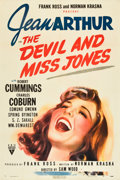 "Movie Posters:Comedy, The Devil and Miss Jones (RKO, 1941). One Sheet (27"" X 41"").. ..."
