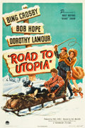 "Movie Posters:Comedy, Road to Utopia (Paramount, 1946). One Sheet (27"" X 41"").. ..."