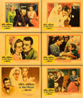 "Movie Posters:Drama, The Old Maid (Warner Brothers, 1939). Title Lobby Card and LobbyCards (5)(11"" X 14"").. ... (Total: 6 Items)"