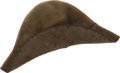 Military & Patriotic:Civil War, Confederate Enlisted Slouch Hat Picked up on the Gettysburg Battlefield by a Member of the 107th Ohio Vol. Inf....