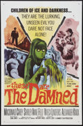 """Movie Posters:Science Fiction, These Are the Damned (Columbia, 1964). One Sheet (27"""" X 41"""").Science Fiction.. ..."""