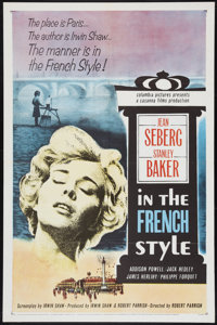 "In the French Style (Columbia, 1963). One Sheet (27"" X 41""). Romance. ... (Total: 2 Items)"