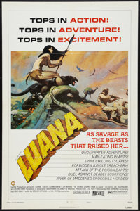 "Luana (Capital Productions, 1973). One Sheet (27"" X 41"") Style B. Adventure"