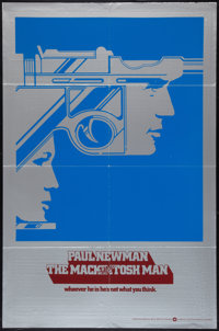 "The Mackintosh Man (Warner Brothers, 1973). One Sheet (27"" X 41"") Advance. Thriller"