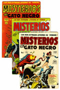 Golden Age (1938-1955):Horror, Misterios del Gato Negro File Copies Group (Harvey, 1950s)Condition: Average FN+....
