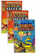 Bronze Age (1970-1979):Cartoon Character, Richie Rich Gold and Silver #1-42 File Copies Group (Harvey, 1975-82) Condition: NM-.... (Total: 105 Comic Books)
