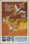 "Movie Posters:War, Jet Attack (American International, 1958). One Sheet (27"" X 41"").War.. ..."