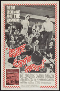 "Hey, Let's Twist (Paramount, 1962). One Sheet (27"" X 41""). Rock and Roll"