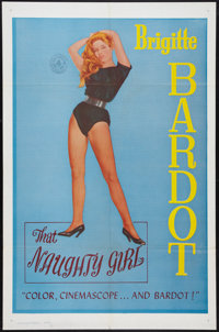 "Mam'zelle Pigalle (Howco, 1961). One Sheet (27"" X 41""). Released in the U.S. as That Naughty Girl. Romance..."