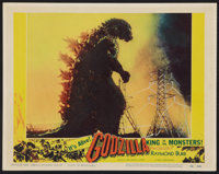 "Godzilla (Trans World, 1956). Lobby Card (11"" X 14""). Science Fiction"