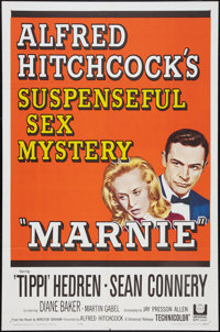 "Marnie (Universal, 1964). One Sheet (27"" X 41""). Hitchcock"