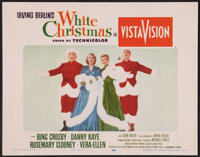 "White Christmas (Paramount, 1954). Lobby Card (11"" X 14""). Musical"