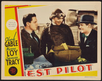"Test Pilot (MGM, 1938). Lobby Card (11"" X 14""). Action"
