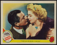 "Slightly Dangerous (MGM, 1943). Lobby Card (11"" X 14""). Romance"