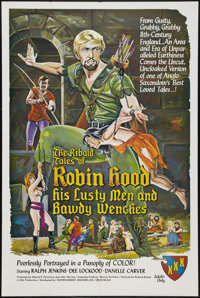 "The Ribald Tales of Robin Hood Lot (Entertainment Ventures, Inc., 1969). One Sheets (2) (28"" X 42"" and 24""..."
