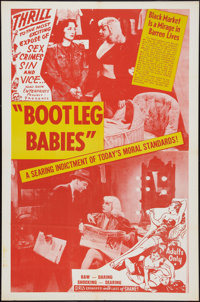 "Bootleg Babies (Roadshow, 1950). One Sheet (27"" X 41""). Exploitation"