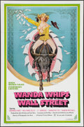 "Movie Posters:Adult, Wanda Whips Wall Street (Platinum Pictures, 1982). One Sheet (27"" X41""). Adult.. ..."