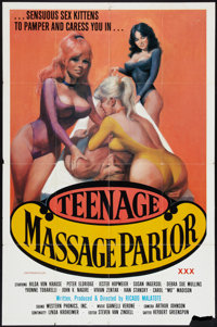 "Teenage Massage Parlor (Unknown, 1976). One Sheet (27"" X 41""). Adult"