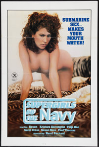 """Supergirls Do the Navy and Other Lot (Nibo, 1984). One Sheets (2) (27"""" X 41""""). Adult. ... (Total: 2 Items)"""