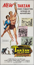 "Movie Posters:Adventure, Tarzan the Ape Man (MGM, 1959). Three Sheet (41"" X 81"").Adventure.. ..."