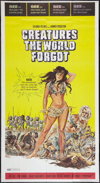 "Creatures the World Forgot (Columbia, 1971). Three Sheet (41"" X 81""). Fantasy"